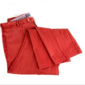 Peter Millar Flat Front Chino Faded Red/Pink